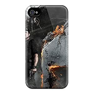 Ultra Slim Fit Hard BrandonLotts Case Cover Specially Made For Iphone 4/4s- Expendables 2 Sylvester Stallone