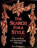 Search for a Style, John Cornforth, 0393027031