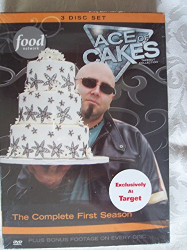 Ace Of Cakes: The Complete First Season - 3 DVD Set - Duff Goldman (Dvd Movie The Duff)