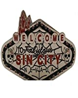 Sin City Colored Belt Buckle