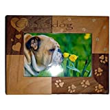 we love our granddog photo frame 4 x 6
