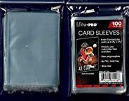 Ultra Pro 5 (Five) Pack Lot of 100 Soft Sleeves/Penny Sleeve for Baseball Cards & Other Sports C