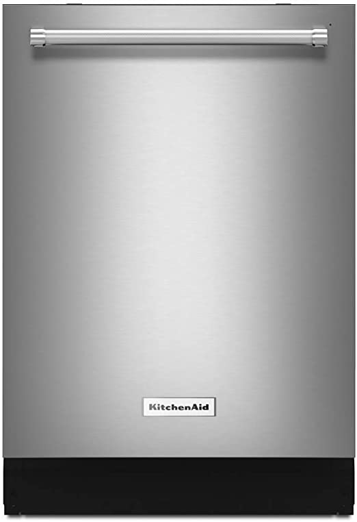Kitchenaid Dishwasher White >> Kitchen Aid Kdtm354ess Stainless Steel Tub Built In Stainless Dishwasher