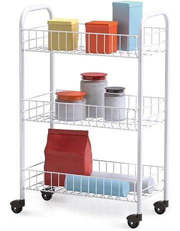 Storage Trolleys Home Kitchen Amazon Co Uk