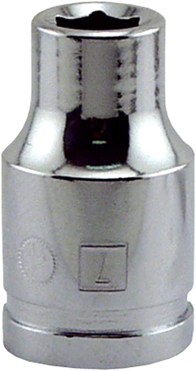 """Great Neck SK7M 7MM X 3//8/"""" Drive 6 Point Socket Metric"""