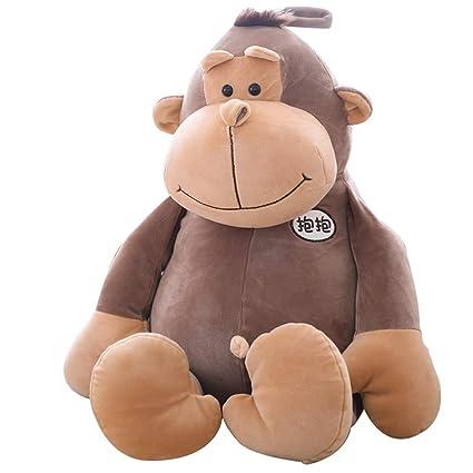 Muñeca de gorila Juguetes de peluche para niños Abrazo suave de mono Almohada de juguete para