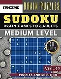 Sudoku Medium: Huge 300 medium SUDOKU books