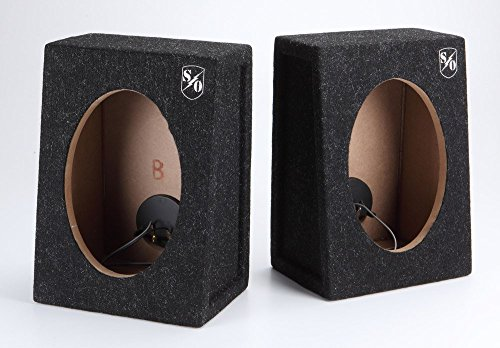 Wedge Speaker Boxes (Sound Ordnance BB692T 6x9