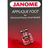 janome applique foot - Applique Foot For #202023001 Janome Horizontal Rotary Hook Models