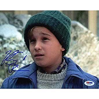 """Johnny Galecki """"National Lampoon's Christmas Vacation"""" Signed 8x10 Photo Certified Authentic PSA/DNA"""