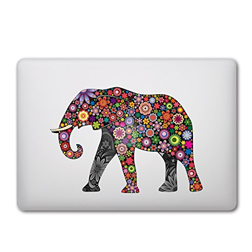 iCasso Removable Sticker Macbook Elephant
