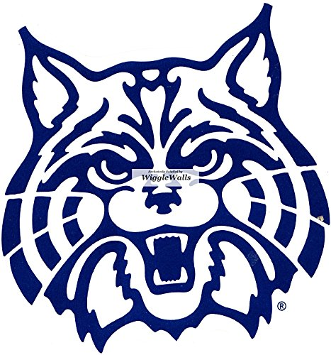 3 Inch Wildcat Logo University of Arizona Wildcats UA AZ Removable Wall Decal Sticker Art NCAA Home Room Decor 3 by 3 Inches