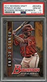 #9: 2017 bowman draft bowman defining moments #bdmra RONALD ACUNA rookie card PSA 10 Graded Card