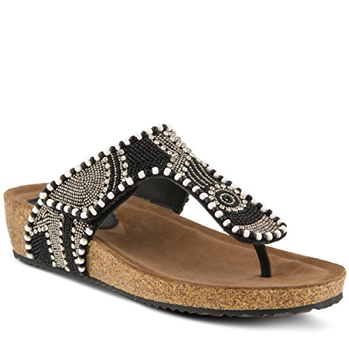 exclusive online countdown package cheap online Azura Women's Style Lachlana Leather Slide Sandal Black Multi on hot sale clearance top quality outlet extremely kMSZwW