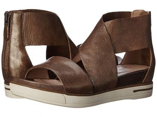 Eileen Fisher(アイリーンフィッシャー) レディース 女性用 シューズ 靴 サンダル Sport - Bronze Metallic Leather [並行輸入品]