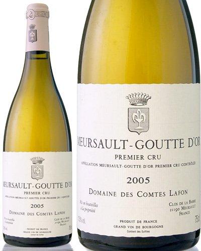 ムルソー プルミエ クリュ グット ドール[2005]コント ラフォン(白ワイン)  B071WHBNKX