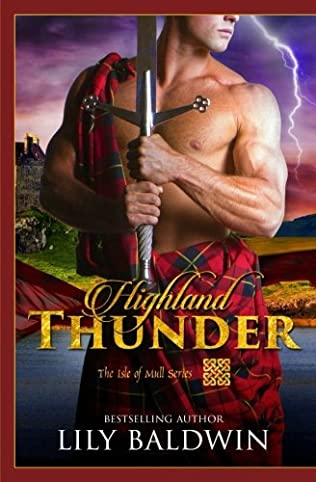 book cover of Highland Thunder