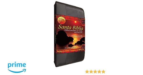 Santa Biblia Complete Reina Valera en 64 Audio CD Plus una ...