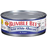 Bumble Bee Tuna Solid White Albacore in Water, Canned, 5 oz