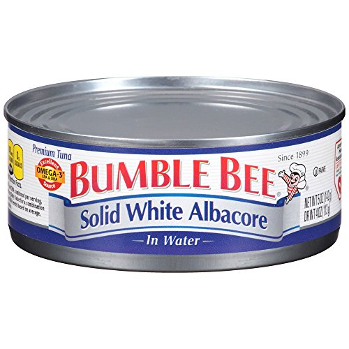 - Bumble Bee Tuna Solid White Albacore in Water, Canned, 5 oz
