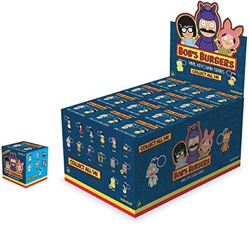 Bob's Burgers: One Full Case of 24 Blind Box Vinyl Keychain Series by Kidrobot by Kidrobot