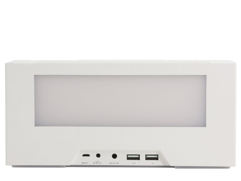 Intelligent Alarm Clock with White Noise Generator 6907-BK00W00 WITTI BEDDI 2