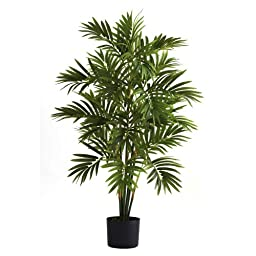 Nearly Natural 5355 Areca Palm Tree, 3-Feet, Green