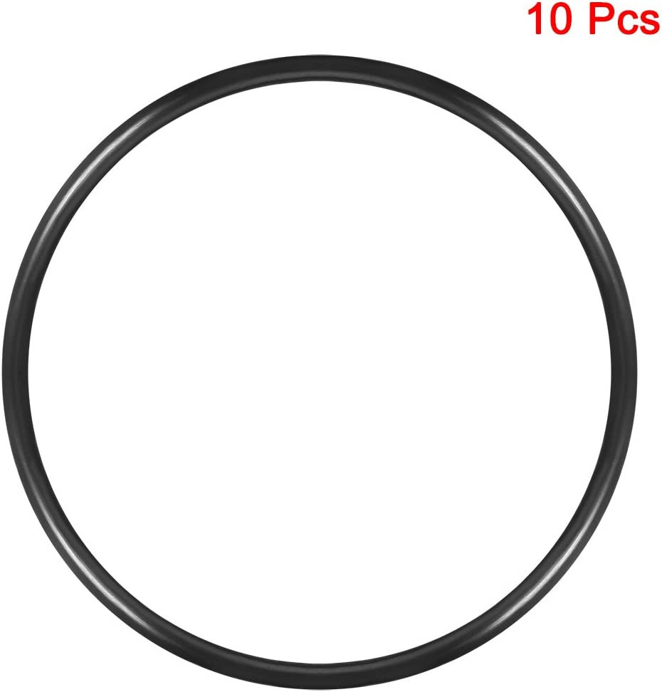 Round Seal Gasket Pack of 10 uxcell O-Rings Nitrile Rubber 140mm Inner Diameter 150mm OD 5mm Width