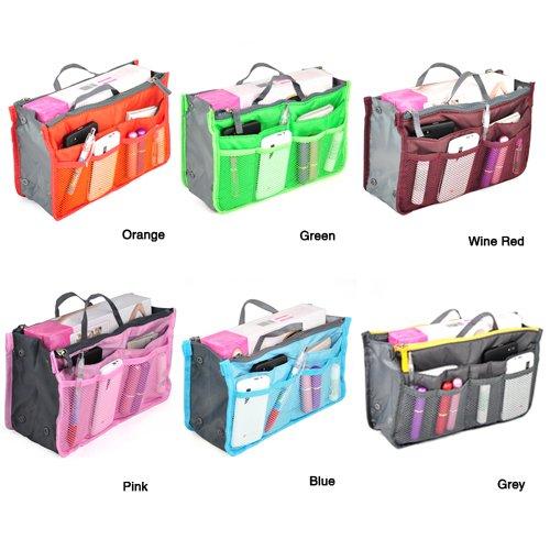 World Pride Nylon Handbag Insert Comestic Gadget Purse Organizer