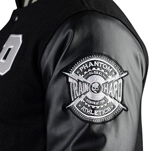 Phantom Athletics Jacket, Destroyer, Nero, Stree tstyle, MMA, Giacca