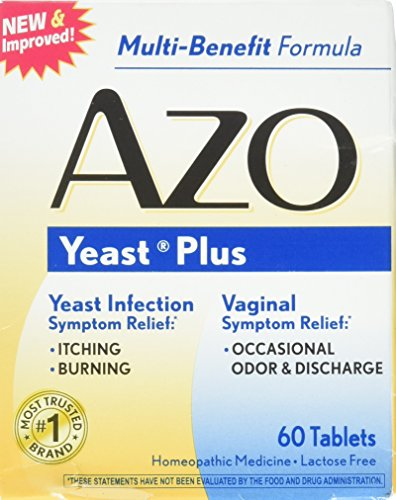 Symptoms 60 Tablets - AZO Yeast Plus Tablets, 60 Count