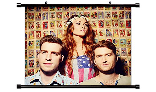 MisterWives Music Band Fabric Wall Scroll Poster