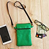 Neck Wallet Travel, Necklace Micro Bag, Phone Money Passport Purse, Waterproof Strap Mini Pouch