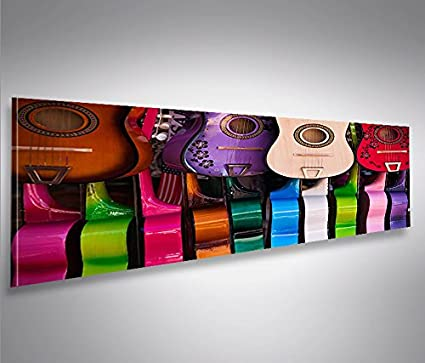 Quadro moderno guitarras Impresión sobre lienzo - Quadro X ...