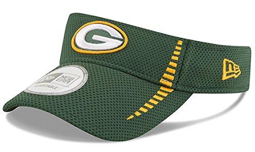- NFL Green Bay Packers NE Speed Visor, One Size, Green