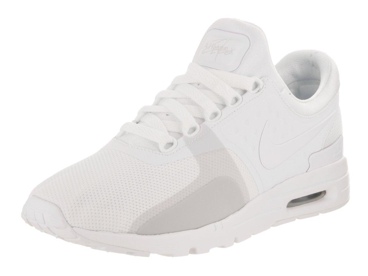 Nike Womens Air Max Zero White/White Pure Platinum Running Shoe 9.5 Women US