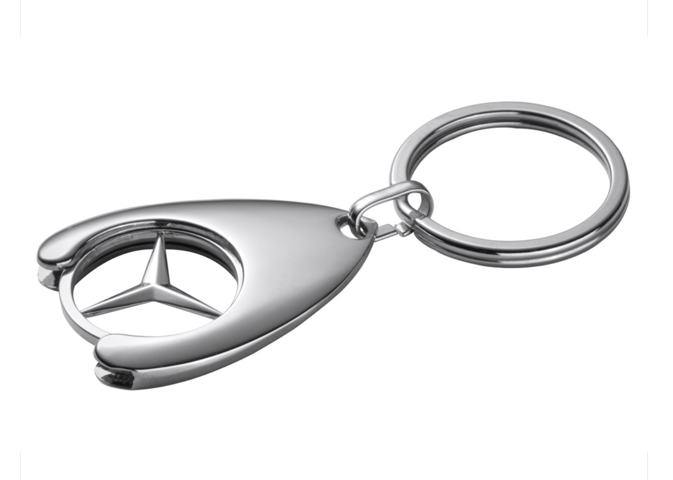 Genuine Mercedes Benz Shopping Key Chain with Chip