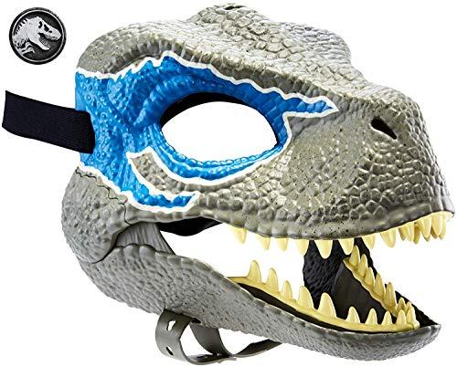 Jurassic World Velociraptor Blue Mask (The Lost World Jurassic Park T Rex)