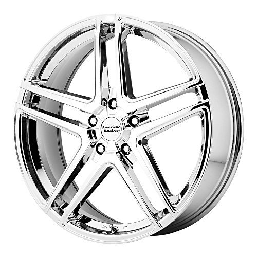 American Racing AR907 Bright PVD Wheel (17x7.5