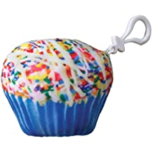 iscream Rainbowlicious! Vanilla Scented Rainbow Cupcake Mini Microbead Pillow Backpack Charm
