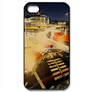 Crossroads Watercolor style Cover iPhone 4 and 4S Case