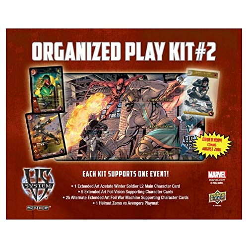 Upper Deck The UPR86550 VS System 2PCG Organized Play Kit Card Games