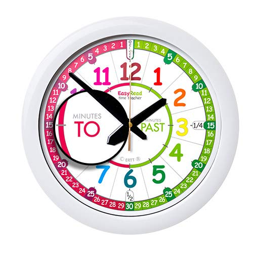 Easyread Time Teacher Children S Wall Clock With Simple 3