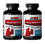 Male enhancing pills increase size and length - HORNY GOAT WEED (PREMIUM HERBAL BLEND) - Horny goat weed natural - 2 Bottles 120 Capsules