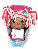 Flip Zee Girls African American Zoey Sweet and Cuddly 2-in-1 Plush Doll
