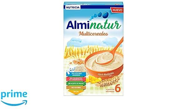 Alminatur Papilla de multicereales a partir de los 6 meses - 250 gr: Amazon.es: Amazon Pantry