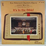 It's In The Bible! [VINYL LP]