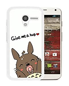 Fashion Designed My Neighbor Totoro 10 White Motorola Moto X Phone Case