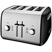 KitchenAid  KMT4115OB 4-Slice Toaster, Onyx Black