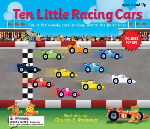 Ten Little Race Cars (Ten Little Counting Books)